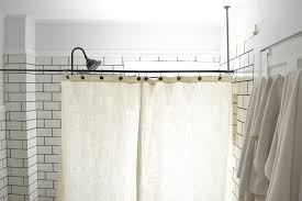 Clawfoot Tub Shower Curtain Rod You Can Make Yourself A Diy Clawfoot Tub Shower Curtain For Your Clawfoot Tub Shower