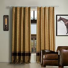 Brown Blackout Curtains Blackout Curtains For A Modern And Beautiful Window Decoration