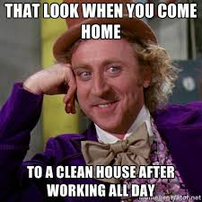 Clean House Meme - maid in his image cleaning home facebook