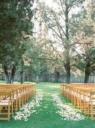 Outdoor Backyard Wedding Backyard Wedding Ceremony In Redmond Oregon Janelle U0026 Kyler