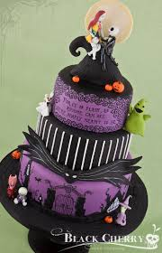 Spooky Halloween Cake Jack And Sally Cake Toppers Contemporary Ideas On Cake Design