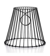 darice metal wire round lampshade joann