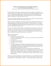 Example Of Personal Statement For Resume How To Write A Personal Resume Download Personal Interests Resume