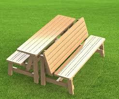 convertible picnic table bench convertible picnic table bench
