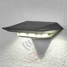 Solar Wall Sconce Ghost Led Solar Wall Light With Motion Detector Lights Co Uk
