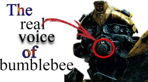 the real voice of bumblebee youtube