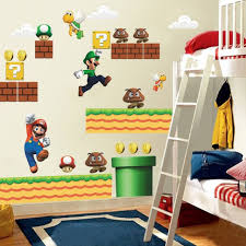 home decor kids super mario wall stickers for kids room home decor zooyoo1443