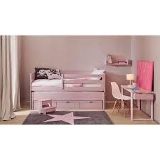 lit gigogne avec bureau chambre pour enfants haut de gamme signée asoral