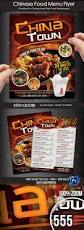 chinese food menu flyer by boca2600 graphicriver