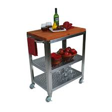 Folding Kitchen Cart by Folding Butcher Block Cart The Best Cart