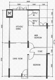 hdb floor plan floor plans for clementi avenue 2 hdb details srx property
