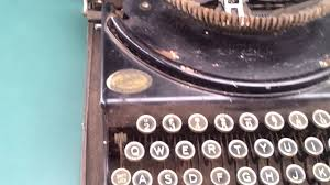 working manual typewriter for sale sold remie scout model portable manual typewriter as is parts not