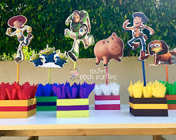 Buzz Lightyear Centerpieces by Toy Story Birthday Centerpiece Toy Story Party Buzz Lightyear