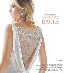 wedding dress trend dramatic backs love maggie love maggie