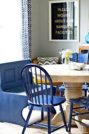 farmhouse kitchen bench makeover with diva of diy u0027s chalk mix paint
