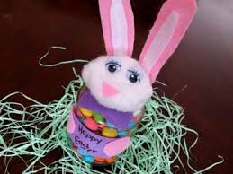 easter bunny candy easter bunny candy holder family crafts