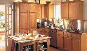 Merillat Kitchen Cabinets Merillat Classic Seneca Ridge In Oak - Merillat classic kitchen cabinets