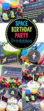 fourth of july birthday invitations space birthday party invitations u0026 party pack