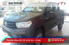 toyota sitio oficial toyota hilux cabina doble dx 2 4 diesel 4x4 mt6 150cv deautos com
