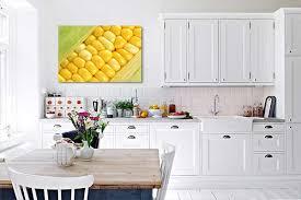 deco murale pour cuisine tableau décoration murale épi de maïs mur tableau