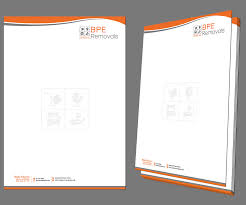 Business Letterhead Paper by Letterhead Design For Bpe Removals By Kousik Design 4024379