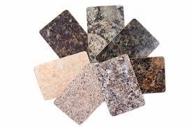 granit cuisine échantillons de plan de travail de cuisine de granit d isolement