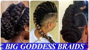black goddess braids hairstyles top 20 amazing african american goddess braids hairstyles youtube