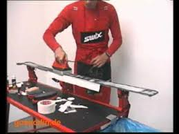 Swix Waxing Table by Swix Ceraf Pulver Youtube