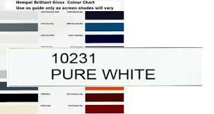hempel s brilliant gloss 10231 pure white 2 5 litre