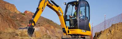 jcb 8018 cts digger hire fleet onecall site services