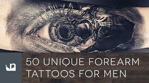 50 unique forearm tattoos for men youtube