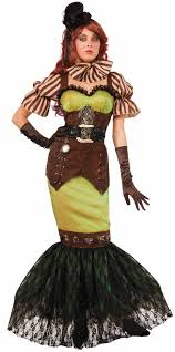 matching women halloween costumes steampunk fairytale siren women costume fn73360 halloween