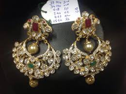 chandbali earrings polki chandbali earrings boutiquedesignerjewellery
