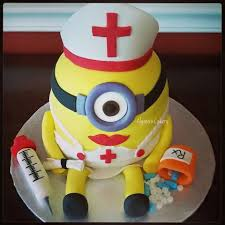 nurse minion alyssa u0027s cakery