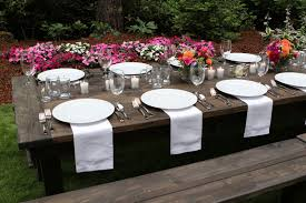tables for rent table bench chair rentals olympic farm style events