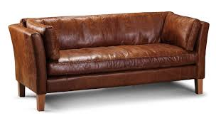 Leather Sofa Company Cardiff Leather 3 Seater Barkby Sofa From Vintage Sofa Company Uk In