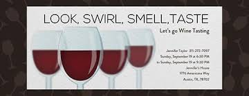 wine tasting free online invitations
