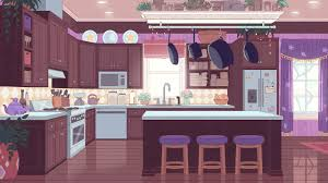 Kitchen Background Here U0027s Another Colored Background For Bee And Puppycat It U0027s