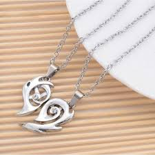 heart couple necklace images Cyclonic heart couple necklace JPG