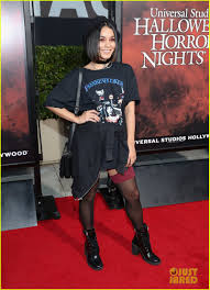 halloween horror nights faq vanessa hudgens gets her scare on at halloween horror nights