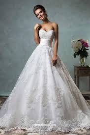 wedding dress lace strapless sweetheart neckline vintage gown lace wedding dress