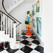 Painted Banister Ideas Painted Stairs Ideal Home