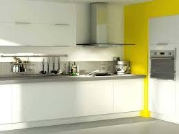 meuble haut cuisine castorama meuble blanc cuisine une cuisine castorama blanche avec un mur peint