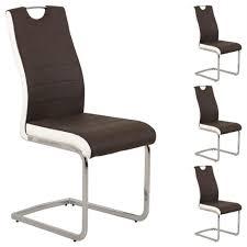 Esszimmerstuhl Tom Schwarz Freischwinger Stühle Günstig Online Kaufen Real De