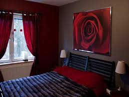 red and grey bedroom boncville com