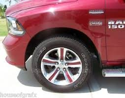 dodge ram sport wheels 20 wheel decal decals inlays graphics fit 2014 dodge ram 1500