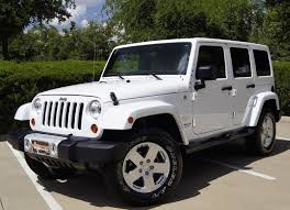 jeep wrangler top jeep wrangler unlimited sport utility 4 door white jeep