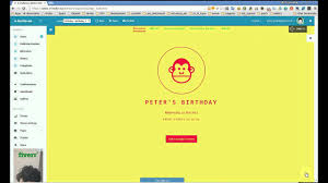 How To Make Invitation Cards Online How To Create Online Invitation Youtube