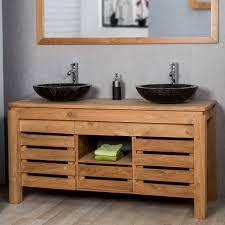 meuble de salle de bain avec meuble de cuisine meuble salle de bain bois exotique 2017 avec meuble salle bain