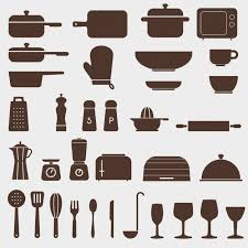 kitchen icon different kitchen icons vector free download